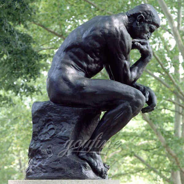 Outdoor Famous Classic Bronze The Thinker Statue for garden