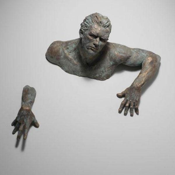 Bronze casting art Famous Matteo Pugliese Sculpture Peplica for sale