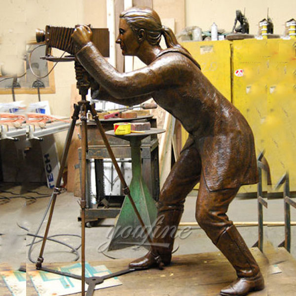 Bronze casting art custom statue of yourself