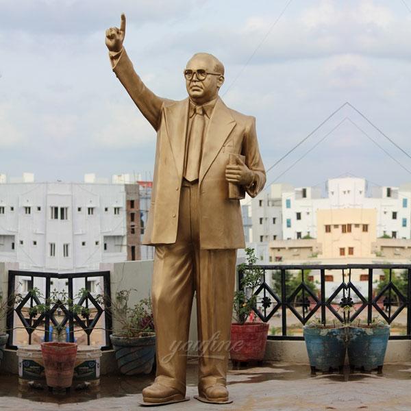 Inian dr ambedkar bronze casting famous figure statues outdoor