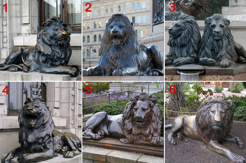 bronze-lion-statue