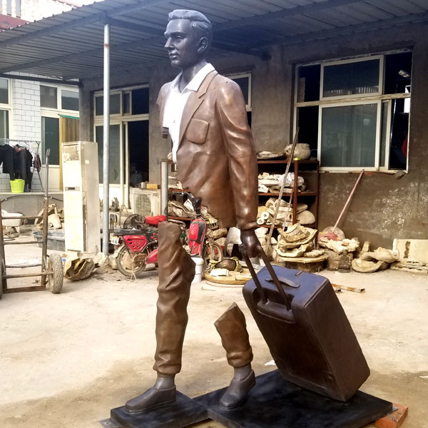 Custom Made Famous Bruno Catalano Travellers Replica Design in Casting Bronze
