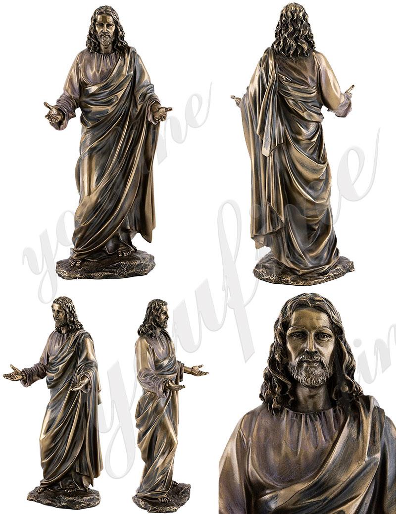 life size bronze Jesus statue