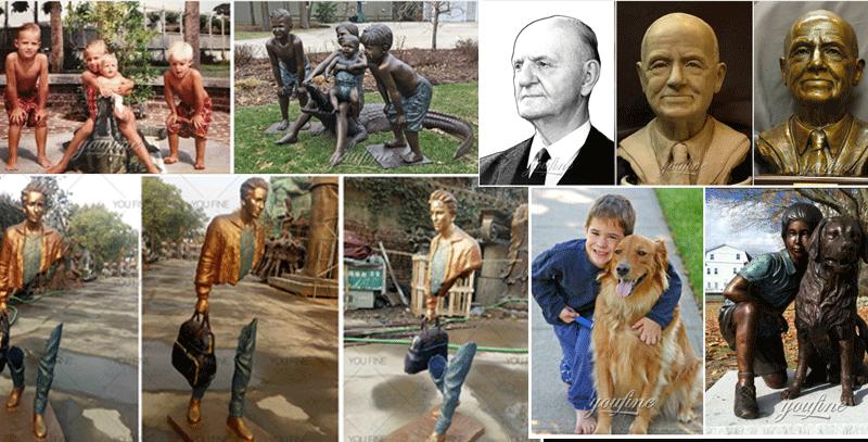 bronze custom made statue