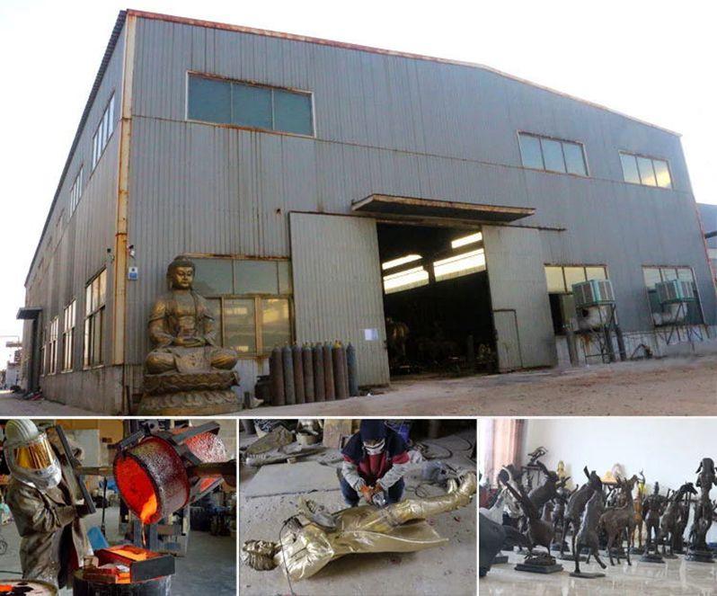 bronze factory