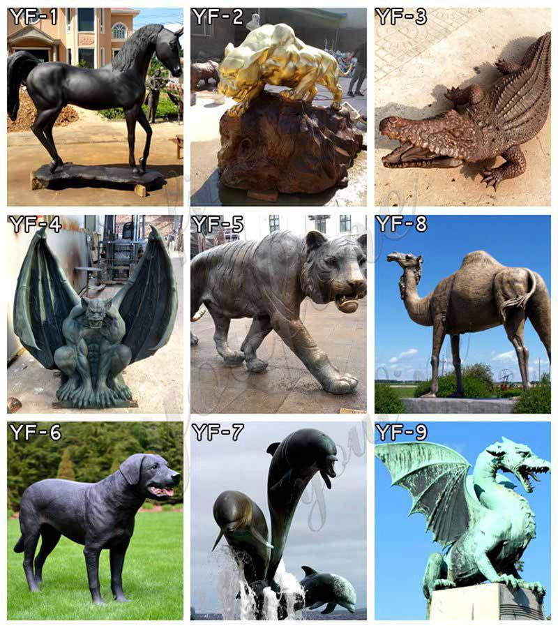 bronze hippo statue for sale