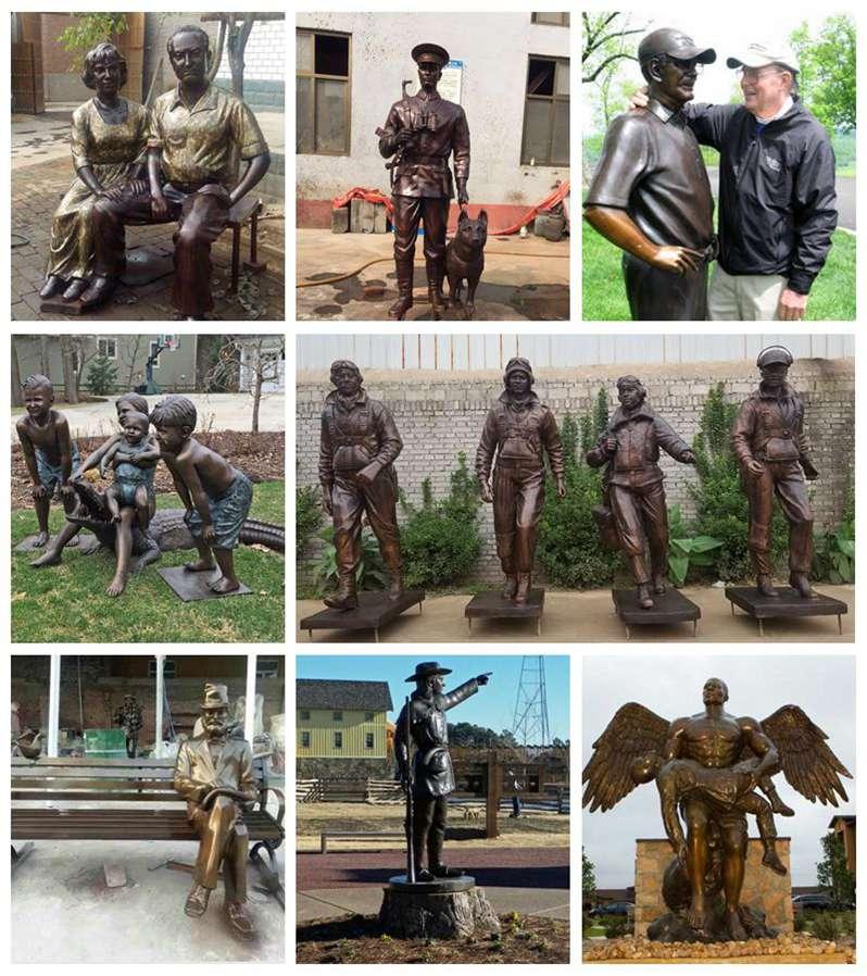 Bronze Custom Made Martin Luther King Sculpture