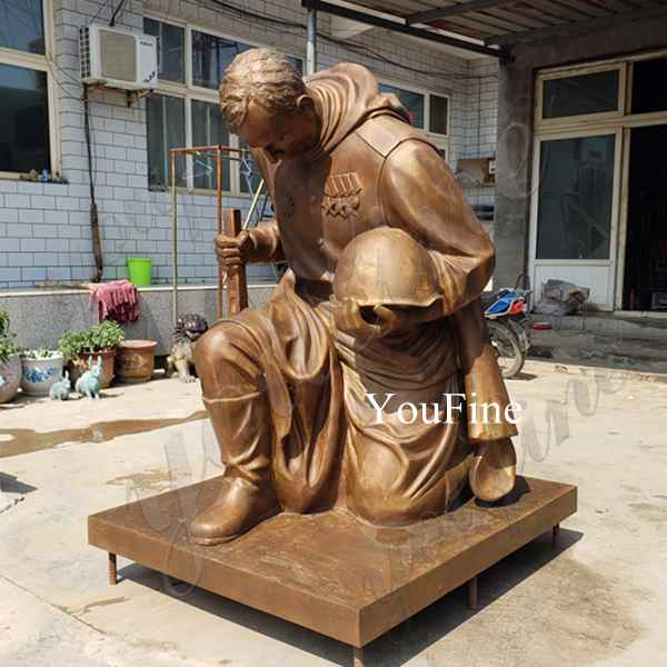 High Quality Bronze Military Statue for commemorate