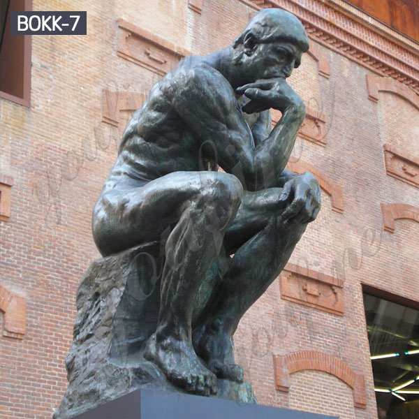 Life Size Famous Bronze Thinker Statue for Outdoor BOKK-07