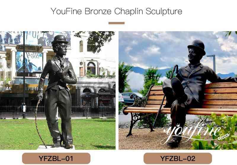 Garden bronze statue for sale