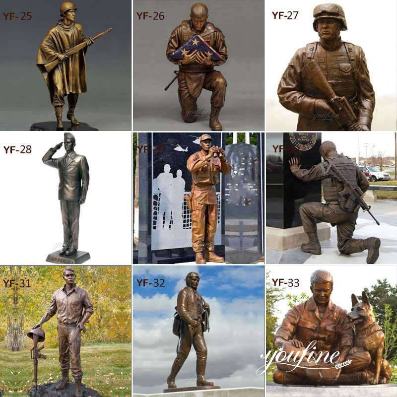 The bronze soldier statue cost