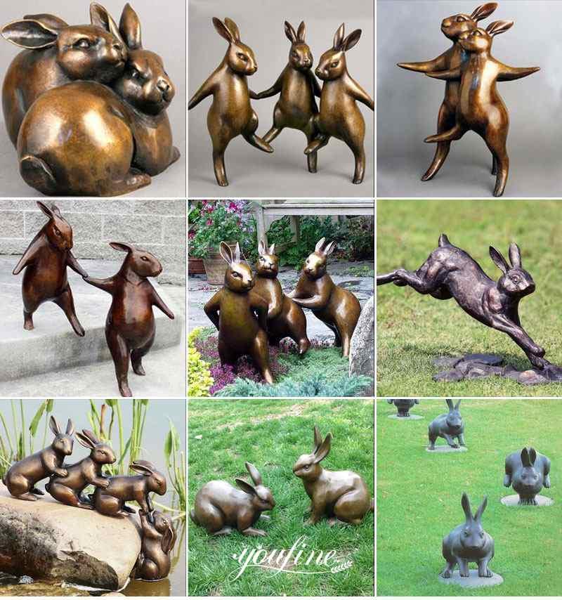 bronze animal statue