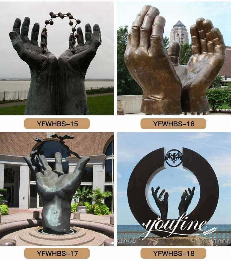 large-bronze-hands-statue-for-sale_