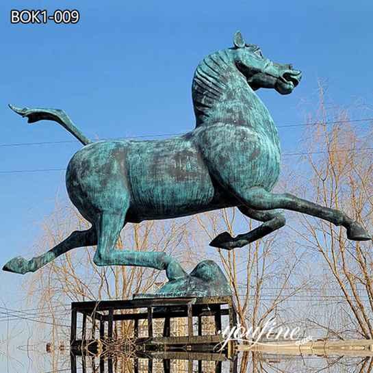 Life-Size Bronze Horse Statue Garden Decoration for Sale BOK1-009