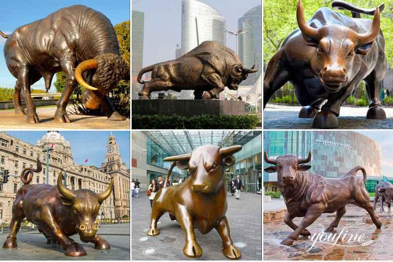 Bison Statue