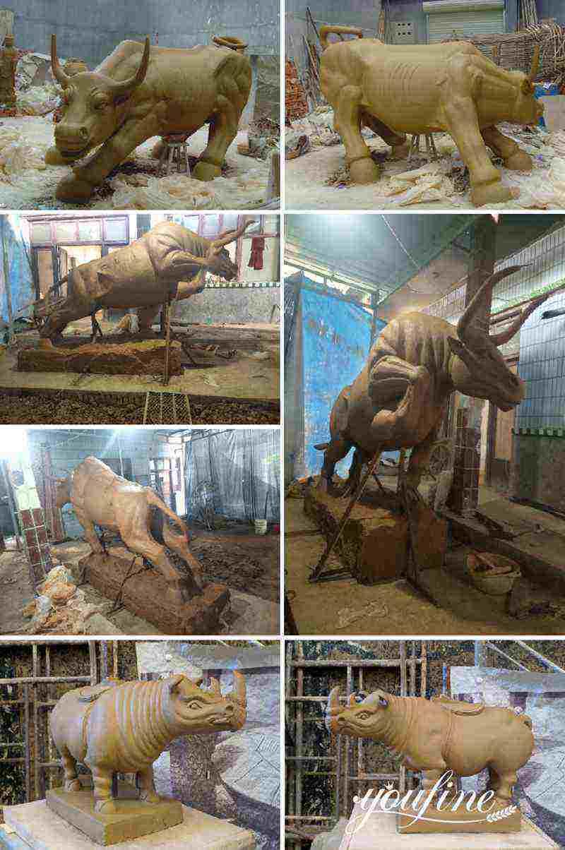 bison sculpture